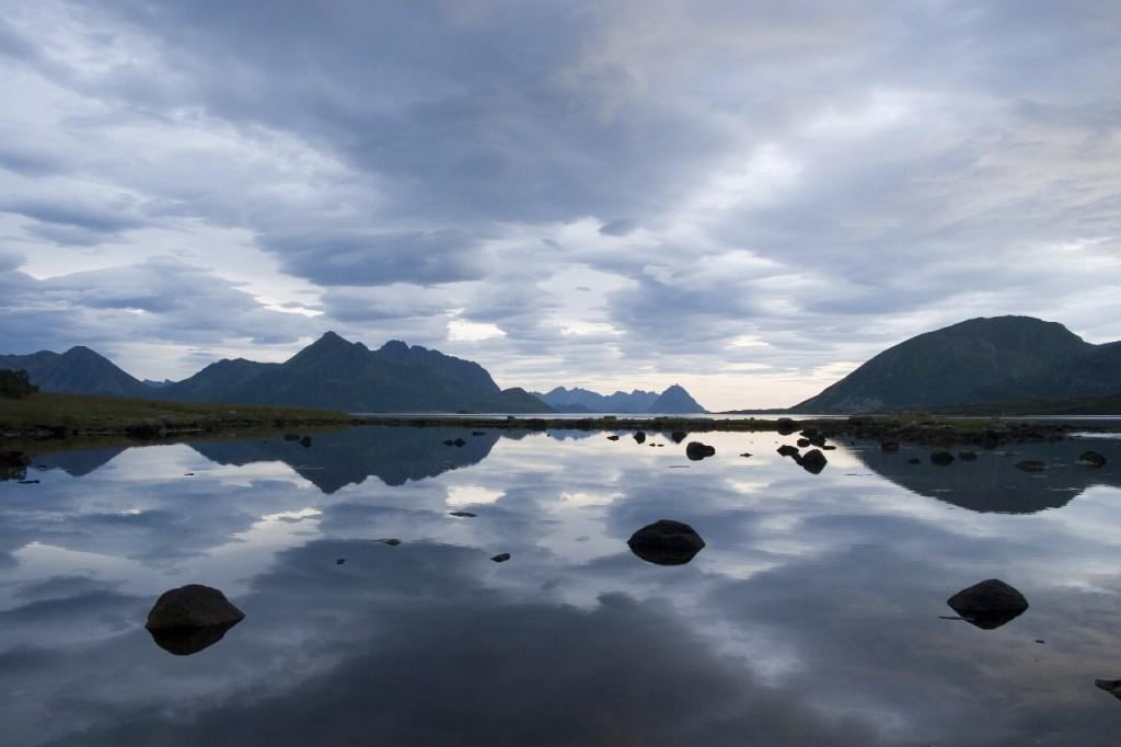 Nächtliches Norwegen
