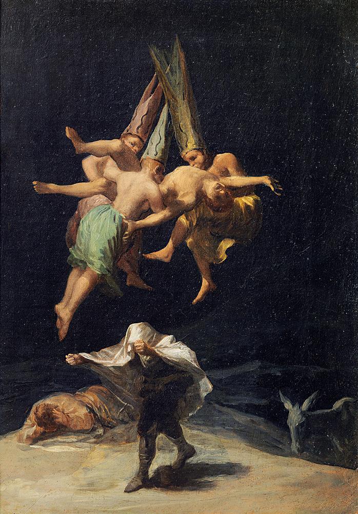 Francisco de Goya - Flug der Hexen