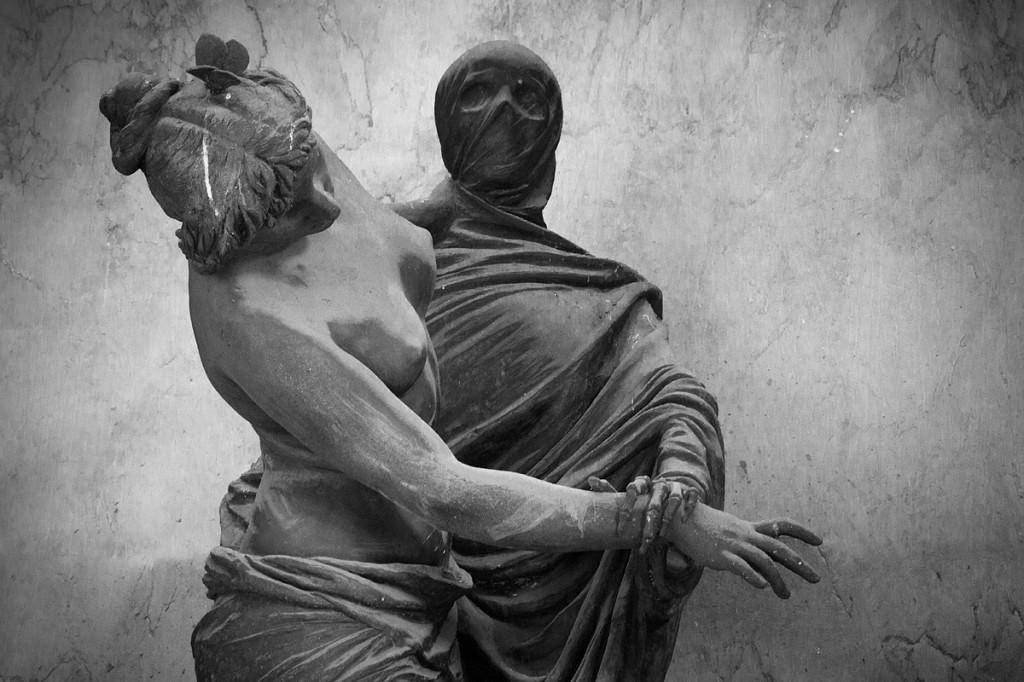 Der Tod bittet zum letzte Tanz.
