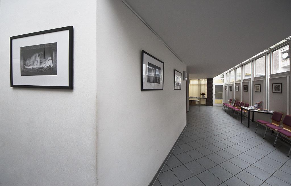 Fotoausstellung in der Wartehalle