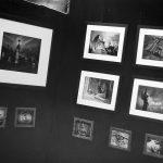Teil der Schwarz-Weiß-Sektion: Friedhofsimpressionen